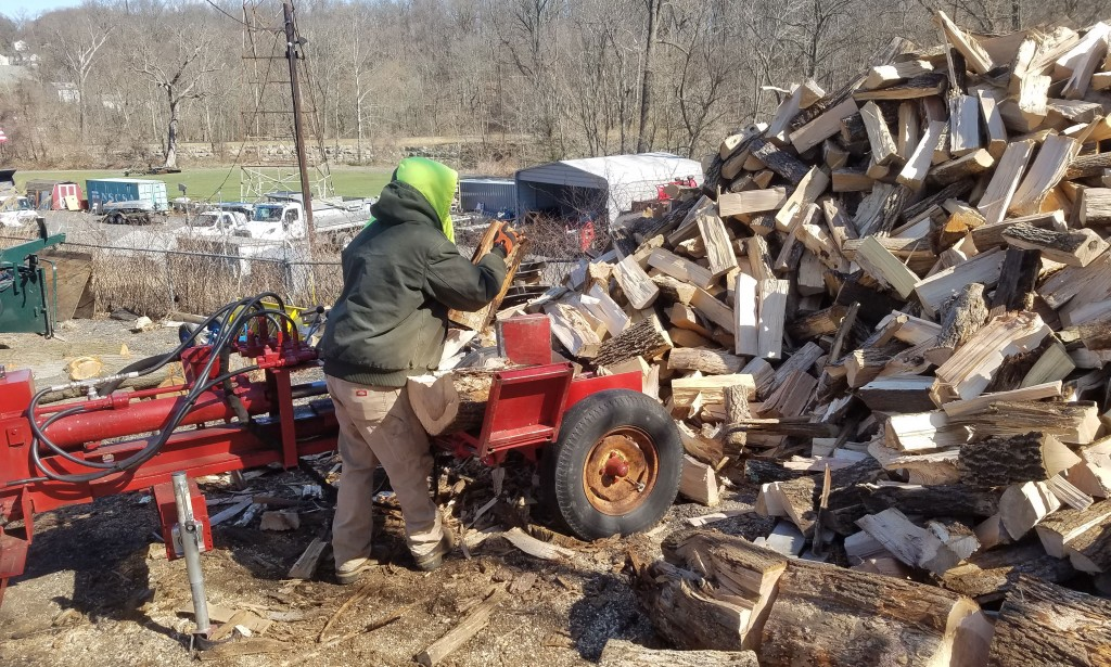 pile of firewood for sale in Aston, PA